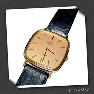 OMEGA Vintage DE VILLE Gold Plated Watch (Unisex)